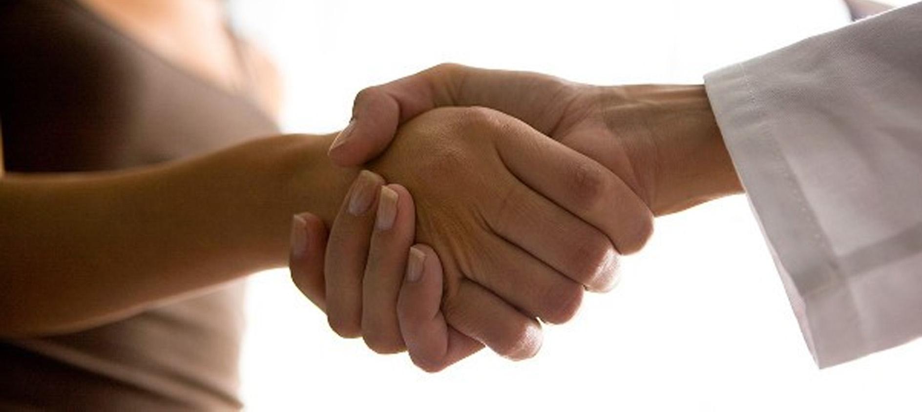 alleanza terapeutiva tra staff medico e paziente